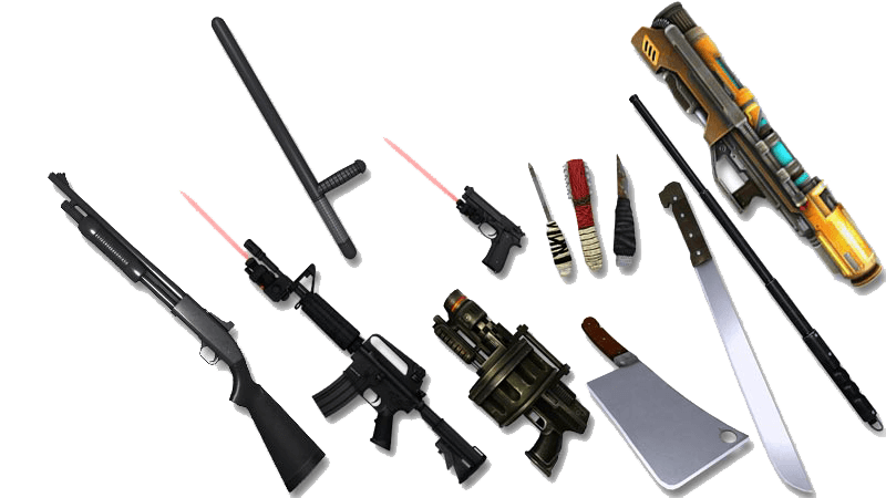 ROCKtropia VR Weapons